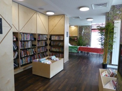 Chester Library - supplied by Peters